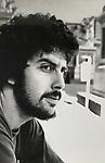 Robert Landau on street circa 1974