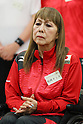 Kimie Bessho (JPN), <br /> JULY 22, 2016 - Table Tennis : <br /> Japan national team Send-off Party <br /> for Rio Olympic Games 2016 &amp; Paralympic Games <br /> at Ajinomoto National Training Center, Tokyo, Japan. <br /> (Photo by YUTAKA/AFLO SPORT)
