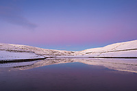 Readycon Dean Reservoir, Saddleworth Moor, Greater Manchester on Saturday 2nd February 2019.