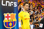 League LNFS 2017/2018.<br /> PlayOff Final-Game 4.<br /> FC Barcelona Lassa vs Movistar Inter FS: 3-3.<br /> FCB por penaltys.<br /> Paco Sedano.
