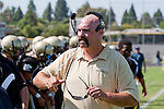 Palos Verdes, CA 09/09/11 - Coach Boyd in action during the North Torrance-Peninsula Panthers varsity football game.
