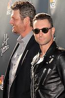 "Blake Shelton, Adam Levine<br /> at NBC's ""The Voice"" Red Carpet Event, The Sayers Club, Hollywood, CA 04-03-14<br /> David Edwards/DailyCeleb.Com 818-249-4998"
