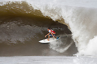 Banzai Pipeline, Hawaii (Friday, December 12 2008)  Nine times world professional surfing champion KELLY SLATER (USA)  today won the Billabong Pipeline Masters, for a record breaking sixth time. The event was the last event on the 2008  ASP World Championship Tour and had a US$320.000 total prize purse. Slater defeated CHRIS WARD (USA) in the 40 minute final. Slater's win was his sixth for the year. The Pipeline Masters had a waiting period from December 8-20 2008.  Photo: joliphotos.com