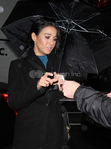NEW YORK, NY- DECEMBER  07: Emmanuelle Chriqui at NBC's Today Show in New York City  on December 07, 2016. Credit: RW/MediaPunch