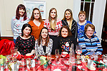 The Fleming family from Scartaglin, enjoying their Christmas party in Denny Lane on Saturday.<br /> Seated l-r, Sheila, Catriona, Maura and Mary Fleming.<br /> Back l-r, Julie Green, Cathy and Shauna Fleming and Margaret Lenehan.