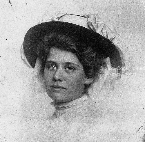 Ann Arbor, MI - FILE -- Gerald Ford's mother, Dorothy Ayer Gardner. Date: ca. June 1915.<br /> Credit: Courtesy Gerald R. Ford Library via CNP