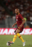 Calcio, Serie A: Roma - Atalanta, Stadio Olimpico, 27 agosto, 2018.<br /> Roma's Steven Nzonzi in action during the Italian Serie A football match between Roma and Atalanta at Roma's Stadio Olimpico, August 27, 2018.<br /> UPDATE IMAGES PRESS/Isabella Bonotto