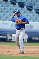 Toronto Blue Jays third baseman Bryan Lizardo (84) during an Instructional League game against the New York Yankees on September 24, 2014 at George M. Steinbrenner Field in Tampa, Florida.  (Mike Janes/Four Seam Images)