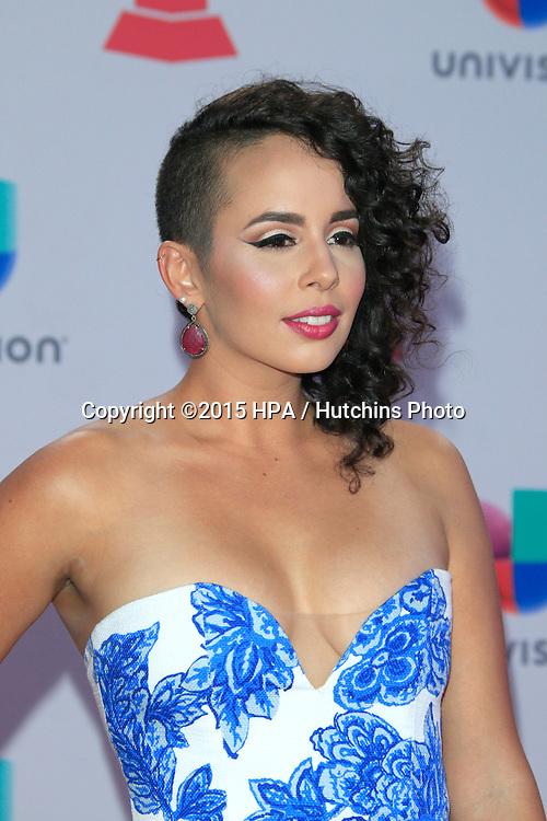 LAS VEGAS - NOV 19:  Raquel Sofia at the 16th Latin GRAMMY Awards at the MGM Grand Garden Arena on November 19, 2015 in Las Vegas, NV