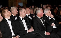 04 April 2019 - London, England - Prince Harry Duke of Sussex, Lord Lieutenant of London Kenneth Ken Olisa, Prince Charles Prince of Wales, Sir David Attenborough and Prince William Duke of Cambridge at Our Planet Global Premiere held at the Natural History Museum. Photo Credit: ALPR/AdMedia