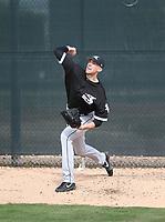 Alec Hansen - Chicago White Sox 2018 spring training (Bill Mitchell)