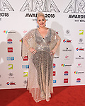 Katie Noonan  at  the 32nd Annual ARIA Awards 2018 at The Star on November 28, 2018 in Sydney, Australia photo by Rhannon Hopley