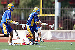 Christian Wheeler (UCSB #27) and Matt Williams (USC #22)