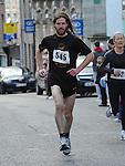 Paddy Cunningham taking part n the Saint Vincent de Paul 5Km run. Photo: Colin Bell/pressphotos.ie