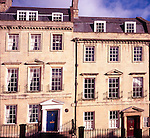 Georgian houses on Lansdown Hill, Bath, England