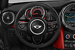 Car pictures of steering wheel view of a 2015 MINI MINI Cooper 3 Door Hatchback Steering Wheel