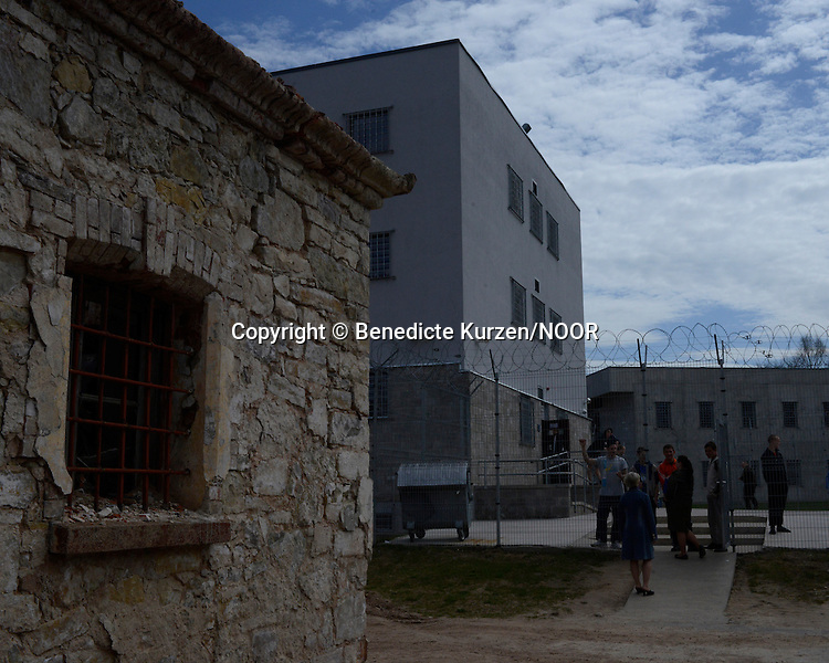 The old part of the prison are going to be soon destroyed and rebuilt at the Cesu correctional institution of juveniles which has been renovated in one part and newly built in other part, Cesu, May 2013. <br /> <br /> There are 50 inmates at the moment at the correctional institution.