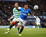 08.11.2019 League Cup Final, Rangers v Celtic: Alfredo Morelos and Christopher Jullien