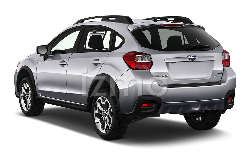 Car pictures of rear three quarter view of 2016 Subaru Crosstrek 2.0i Premium CVT 5 Door SUV Angular Rear