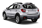Car pictures of rear three quarter view of 2017 Subaru Crosstrek 2.0i Premium CVT 5 Door SUV Angular Rear