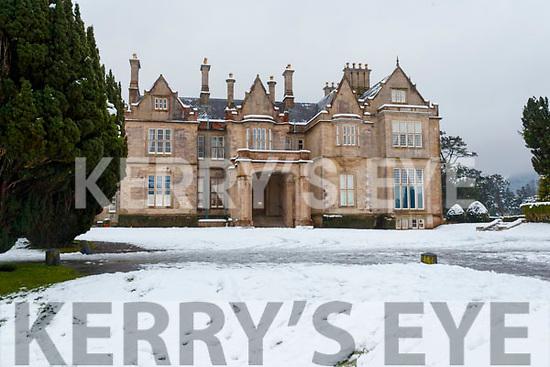 Snow at Muckross House in Killarney National Park, on Saturday last.