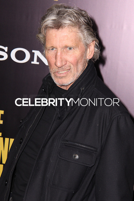 "NEW YORK, NY - FEBRUARY 04: Roger Waters at the New York Premiere Of Columbia Pictures' ""The Monuments Men"" held at Ziegfeld Theater on February 4, 2014 in New York City, New York. (Photo by Jeffery Duran/Celebrity Monitor)"
