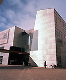 FINLAND, Helsinki, facade of Kiasma Museum of Contemporary Art building