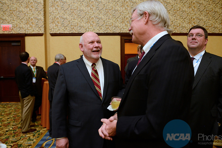 16 JAN 2013: Wally Renfro's retirement party at the 2013 NCAA Convention held at the Gaylord Texan in Grapevine, TX. Stephen Nowland/NCAA Photos.Pictured: Wally Renfro