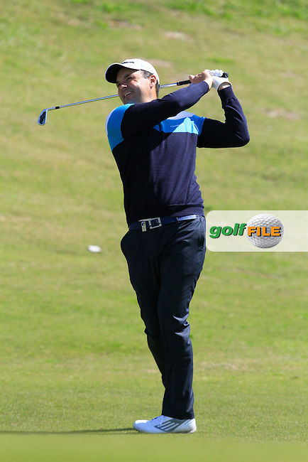 Simon Khan (ENG) during Round 2 of the NH Collection Open at the La Reserva de Sotogrande Club de Golf in Cadiz Spain on Friday 4th April 2014<br /> Picture:  Thos Caffrey / www.golffile.ie