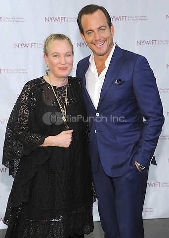 NEW YORK, NY - JUNE 13: Sarah Edwards and Will Arnett attends the New York Women in Film and Television Designing Women Awards on June 13, 2016 at CUNY Graduate Center in New York City. .Phto Credit: John Palmer/ Media Punch