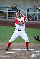 Ivan Villaescusa / Orem Owlz playing against the Missoula Osprey at Orem, UT - 08/11/2008..Photo by:  Bill Mitchell/Four Seam Images