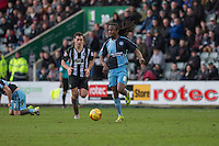 Marcus Bean of Wycombe Wanderers during the Sky Bet League 2 match between Plymouth Argyle and Wycombe Wanderers at Home Park, Plymouth, England on 30 January 2016. Photo by Mark  Hawkins / PRiME Media Images.