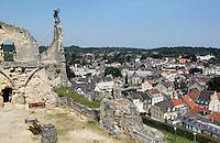 Valkenburg- Foto gemaakt vanaf de Kasteel-Ruine