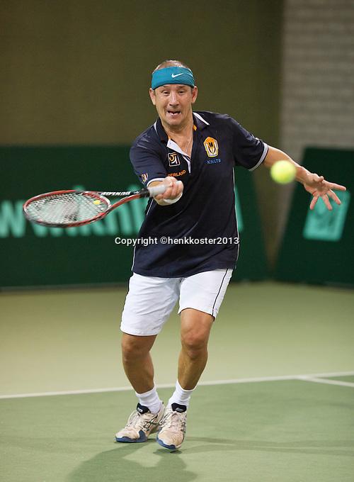 09-03-13, Hilversum, Tennis, NOVK, Veterans,Ton Sie
