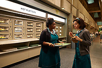 The Shape of Water (2017) <br /> Sally Hawkins &amp; Octavia Spencer  <br /> *Filmstill - Editorial Use Only*<br /> CAP/MFS<br /> Image supplied by Capital Pictures