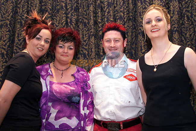 Rhona Matthews, Elaine O'Brien, Robbie Tiernan and Elaine Pentony modelling for Sapphire at the Village of Ability Fashion Show in the Bridgeford..Picture: Paul Mohan/Newsfile