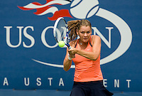 Agnieszka Radwanska (POL) (12) against Patricia Mayr (AUT), Radwanska beat Mayr 6-1 6-2..International Tennis - US Open - Day 1 Mon 31 Aug 2009 - USTA Billie Jean King National Tennis Center - Flushing - New York - USA ..Frey,  Advantage Media Network, Barry House, 20-22 Worple Road, London, SW19 4DH