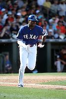 Lewis Brinson - Texas Rangers 2016 spring training (Bill Mitchell)