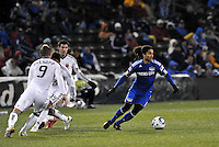 Stephane Auvray...Kansas City Wizards defeated D.C Utd 4-0 in their home opener at Community America Ballpark, Kansas City, Kansas.