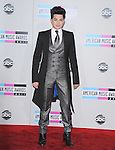 Adam Lambert attends 2011 American Music Awards held at The Nokia Theater Live in Los Angeles, California on November 20,2011                                                                               © 2011 DVS / Hollywood Press Agency
