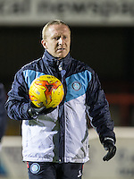 Wycombe Wanderers Assistant Manager Richard Dobson during the Sky Bet League 2 match between Dagenham and Redbridge and Wycombe Wanderers at the London Borough of Barking and Dagenham Stadium, London, England on 9 February 2016. Photo by Andy Rowland.