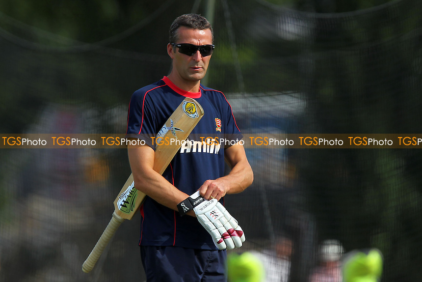 Essex head coach Paul Grayson is seen during the warm up ahead of Day Two - Essex CCC vs Northamptonshire CCC - LV County Championship Division Two Cricket at Castle Park, Colchester Cricket Club - 21/08/13 - MANDATORY CREDIT: Gavin Ellis/TGSPHOTO - Self billing applies where appropriate - 0845 094 6026 - contact@tgsphoto.co.uk - NO UNPAID USE