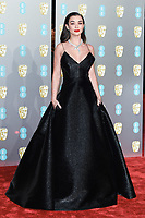 Amy Jackson<br /> arriving for the BAFTA Film Awards 2019 at the Royal Albert Hall, London<br /> <br /> ©Ash Knotek  D3478  10/02/2019