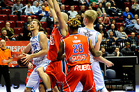 36 KM<br /> GRONINGEN - Basketbal, Donar New Heroes Den Bosch, kwartfinale NBB beker, seizoen 2018-2019, 14-01-2019, Donar speler Thomas Koenes