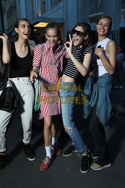 Guest arrivals at FENDI fashion show <br /> HAUTE COUTURE Fall/Winter 17/18<br /> at Paris Fashion Week in France on  July 05, 2017.<br /> CAP/GOL<br /> &copy;GOL/Capital Pictures