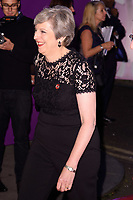 prime Minister Theresa May<br /> at the Pride of Britain Awards 2017 held at the Grosvenor House Hotel, London<br /> <br /> <br /> &copy;Ash Knotek  D3342  30/10/2017