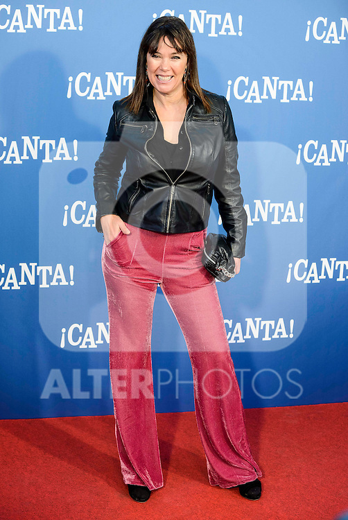 "Mabel Lozano attends to the premiere of the film ""¡Canta!"" at Cines Capitol in Madrid, Spain. December 18, 2016. (ALTERPHOTOS/BorjaB.Hojas)"