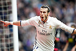 Real Madrid's Garet Bale celebrates goal during La Liga match. February 18,2017. (ALTERPHOTOS/Acero)
