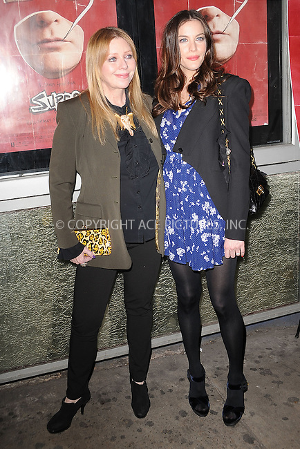 "WWW.ACEPIXS.COM . . . . . .March 30, 2011...New York City...Bebe Buell and Liv Tyler attend the ""Super"" New York Screening at the IFC Center on  March 30, 2011 in New York City....Please byline: KRISTIN CALLAHAN - ACEPIXS.COM.. . . . . . ..Ace Pictures, Inc: ..tel: (212) 243 8787 or (646) 769 0430..e-mail: info@acepixs.com..web: http://www.acepixs.com ."