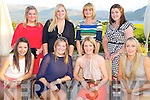 Breda Clifford, Milltown, second from left, pictured with Lisa Marie Clifford, Kathleen Sheehy, Katie Hickey, Caragh Neeson, Rose McCoy, Siobhan Woods and Barbara Tierney as she celebrated her 30th birthday in the Aghadoe Heights Hotel, Killarney on Saturday night.